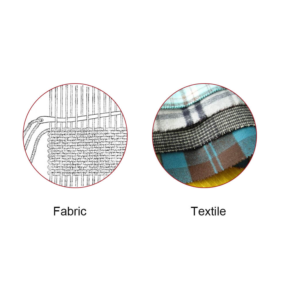 What's Difference Between Fabric And Textile?