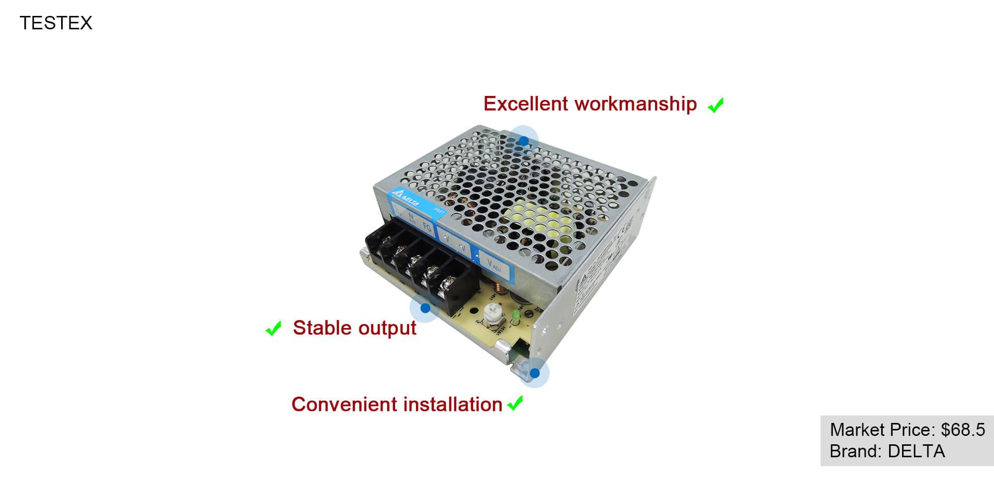 Power Switch TESTEX