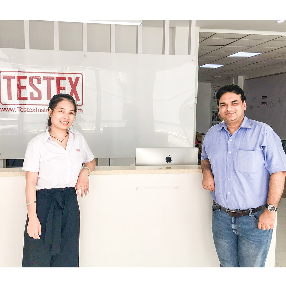 India Customer Visited TESTEX