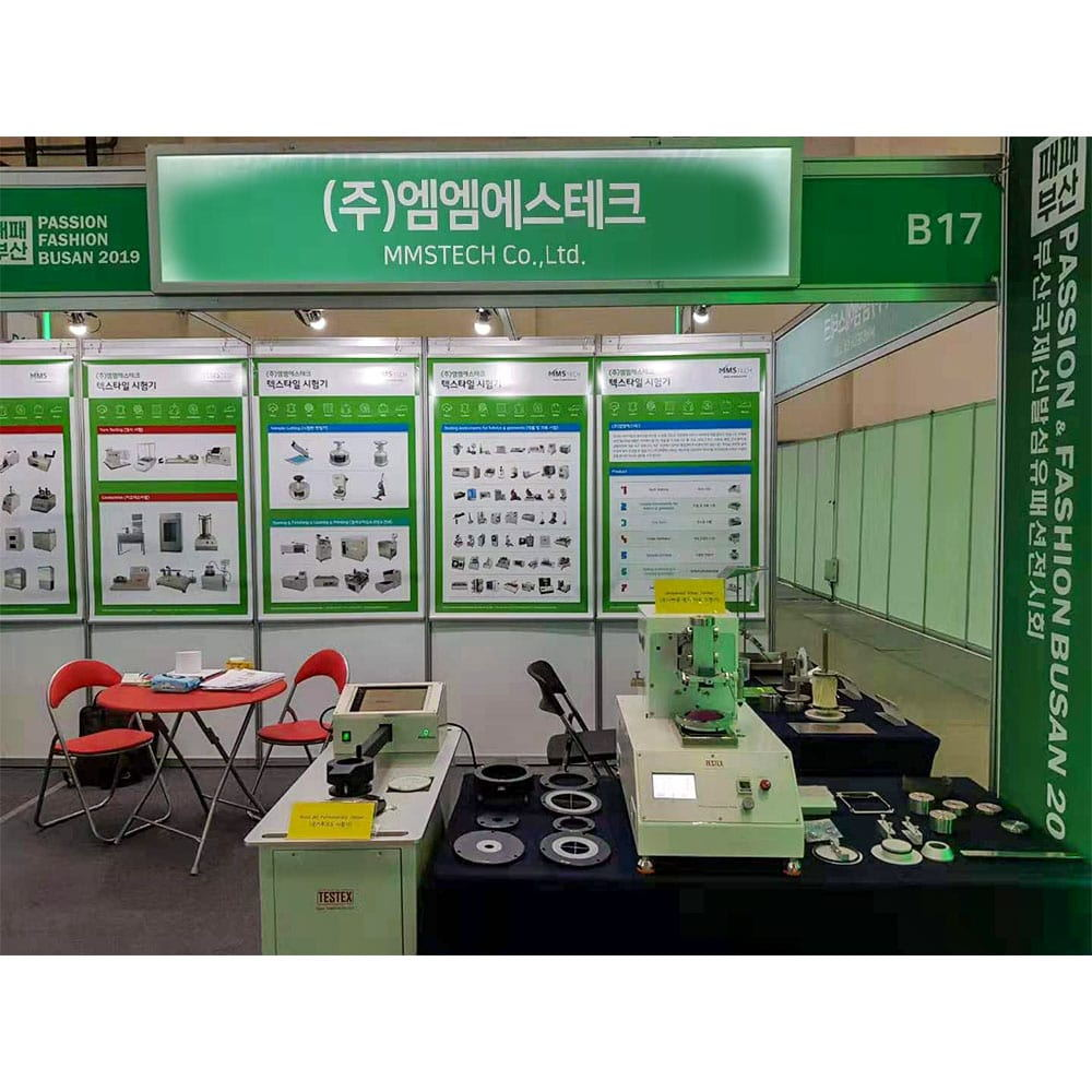 TESTEX's Instruments At PASSION FASHION BUSAN 2019 Exhibition