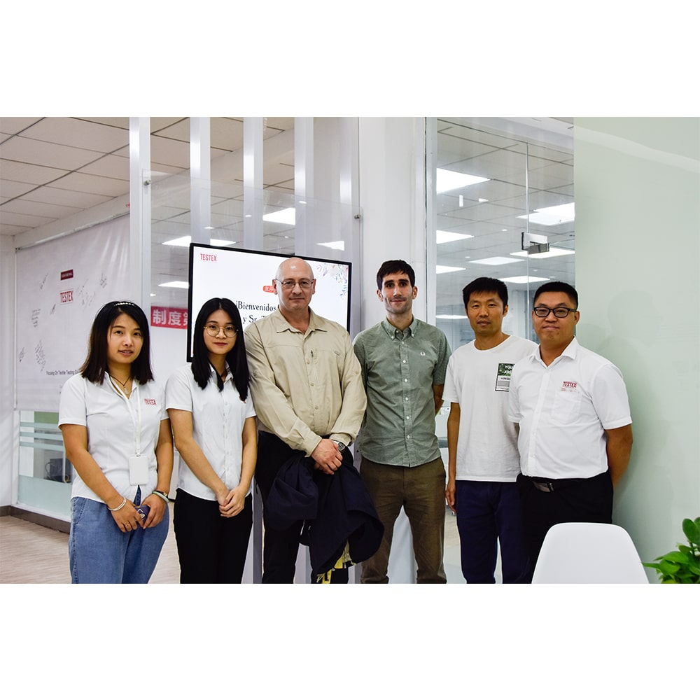 Spain Customer Visited TESTEX For A Solution