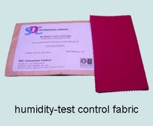 humidity-test control fabric