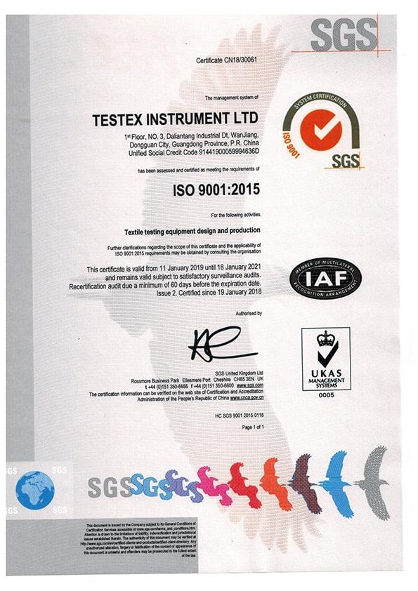 Сертификация ISO 90012015