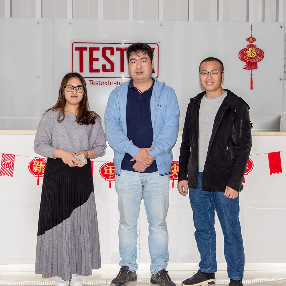 The Last Day Of 2019: Customer Visited TESTEX