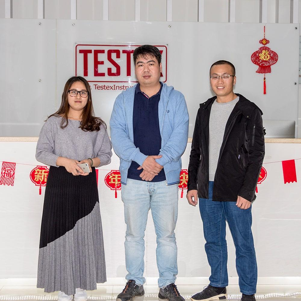 Customer Visiting TESTEX