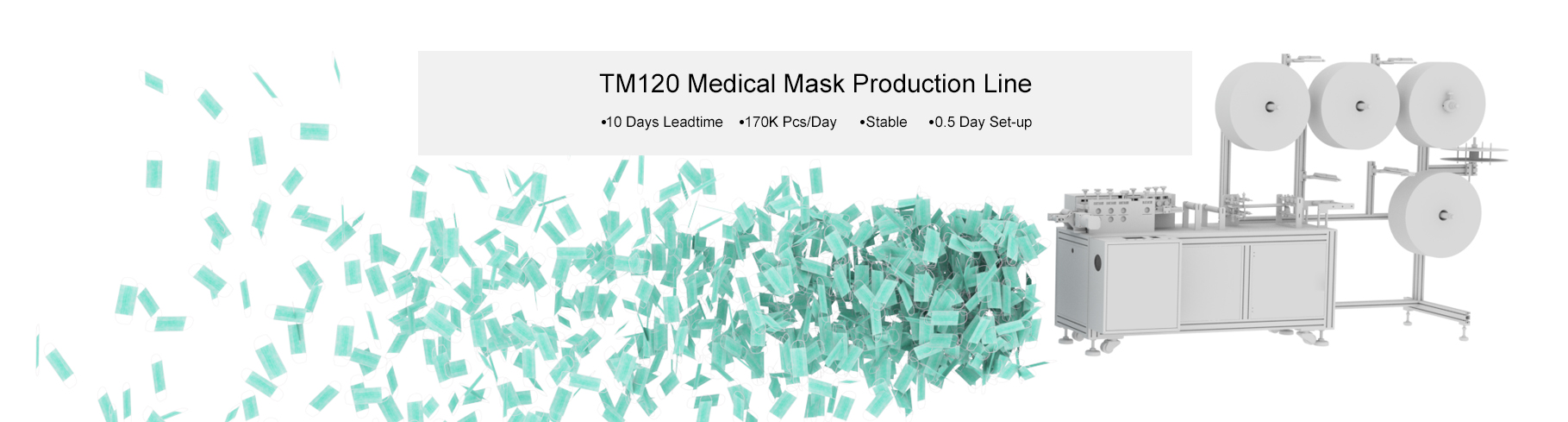 Home Banner Mask Production Line