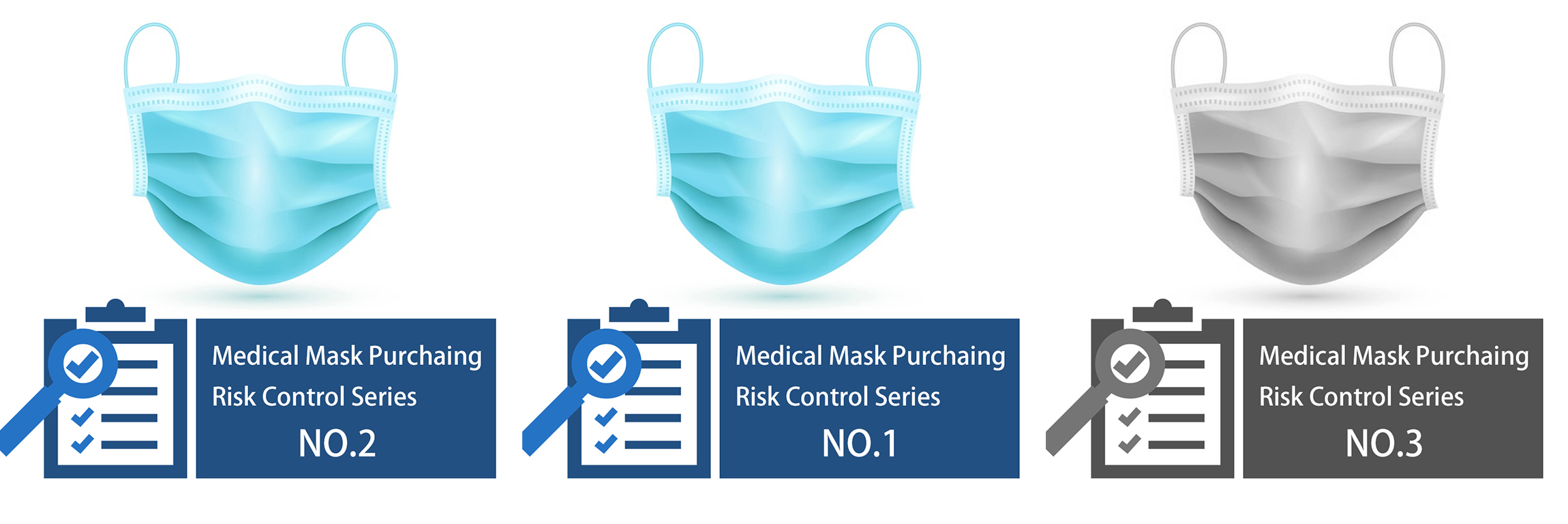 3 articles to reduce the risk of buying medical face masks