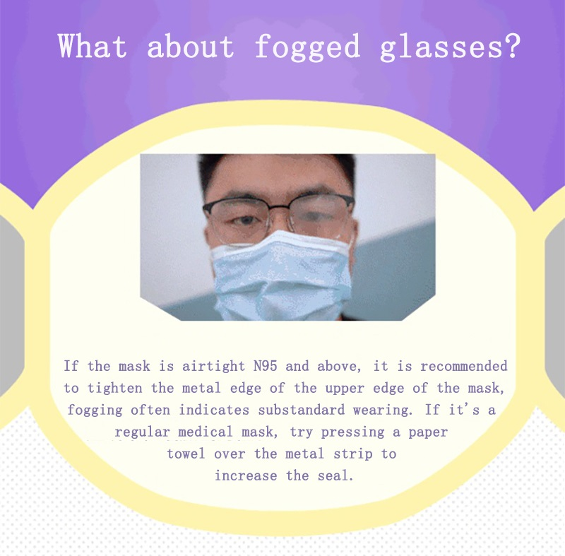 What about fogged glasses