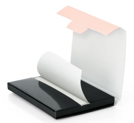oil clean paper