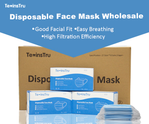texinstru disposable face mask