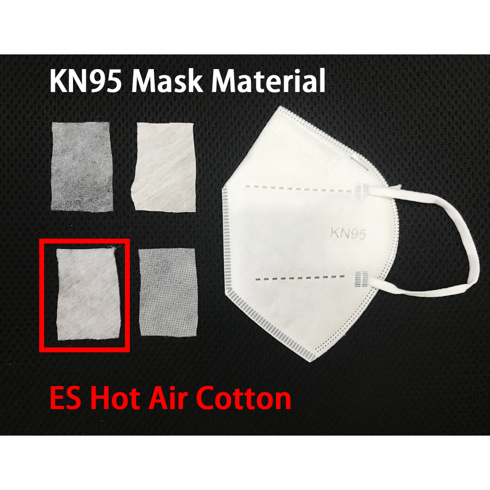 KN95 Mask Material ES Hot Air Cotton Feature Img