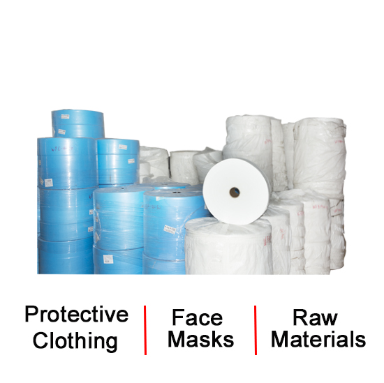 Protective Clothing, Face Mask, Raw Materials