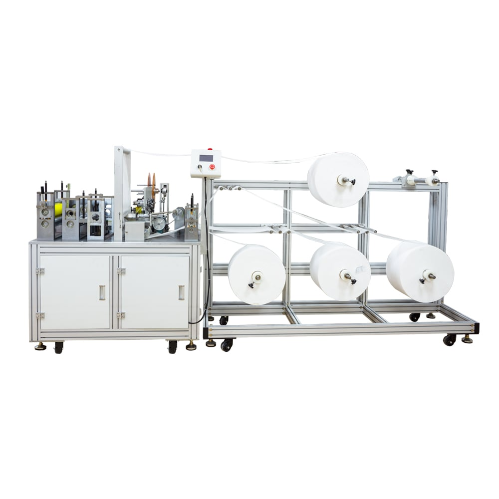 KN95 Mask Making Machine For KN95 N95 FFP2 Masks
