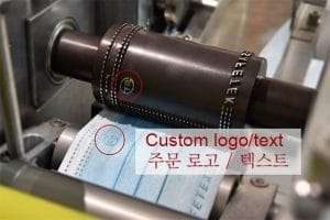 custom logo on flat mask-testex-korea