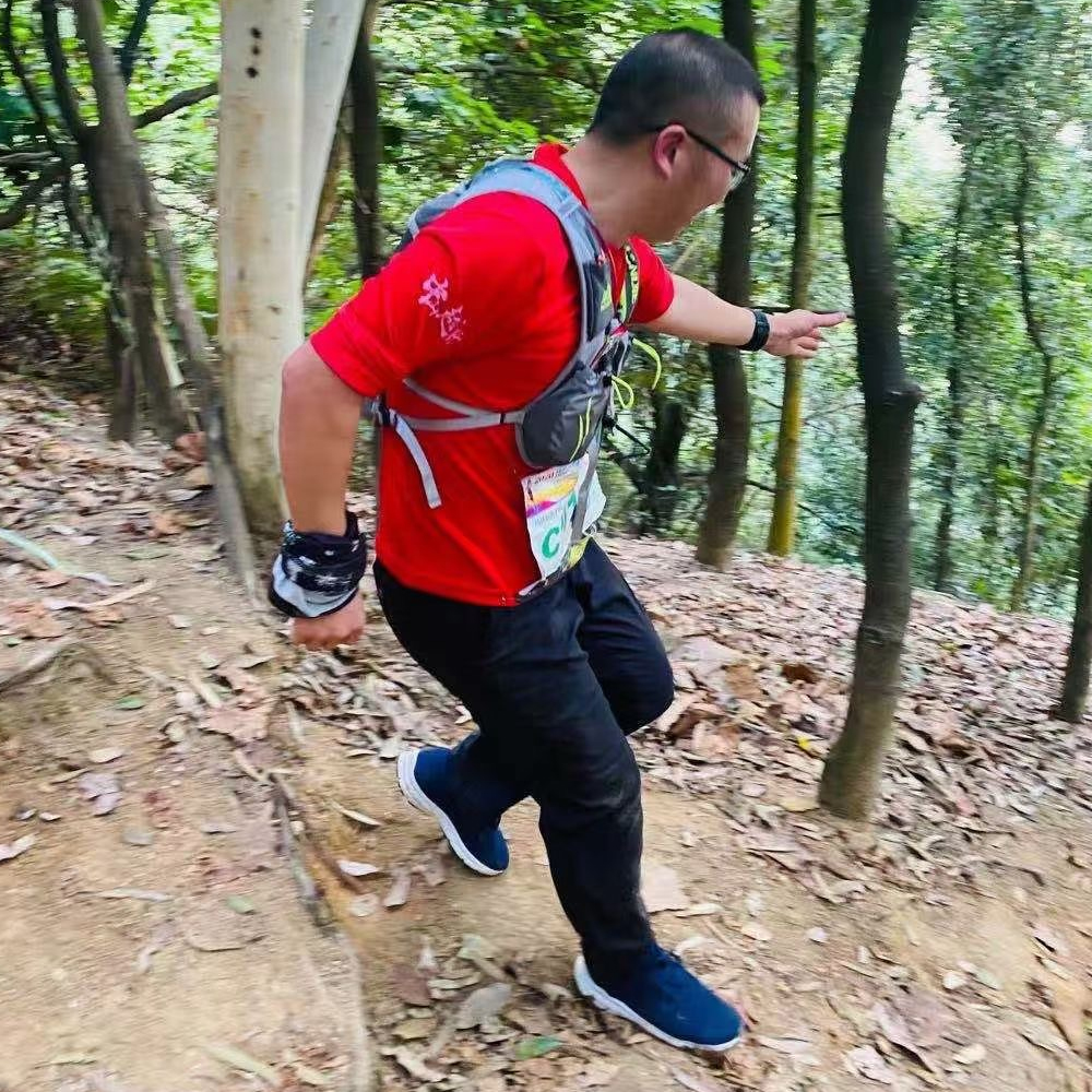 TESTEX CEO Challenged Himself Again In Trail Running Race