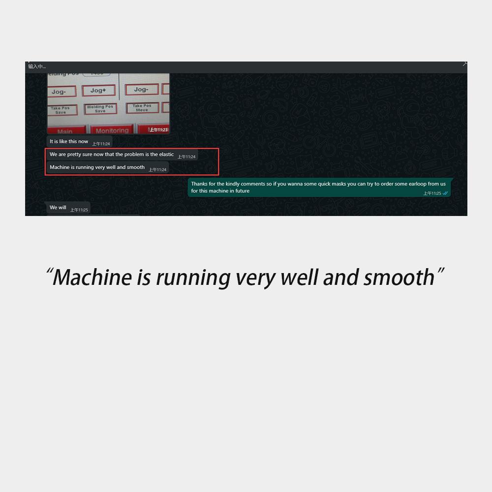 Mask Machine Customer Testimonies4
