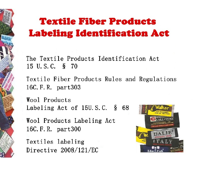 Textile Fiber Products Labeling Identification Act